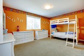 宽敝儿童房卧室效果图图片