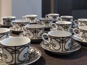 上海柏悦酒店杯子餐具图片