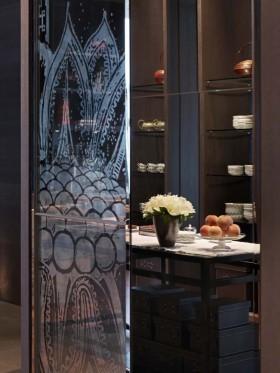 上海柏悦酒店餐具图片