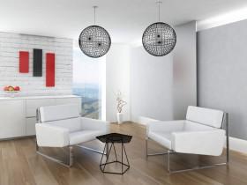 简约现代风格客厅装修设计图片