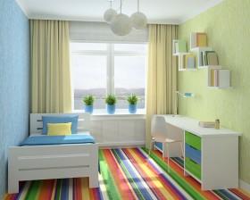儿童卧室装修设计图片