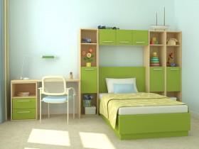 儿童卧室简约装修设计图片