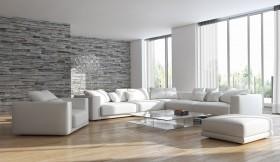 现代简约客厅装修设计效果图片