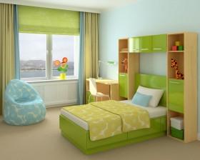 3D儿童卧室效果图高清图片图片