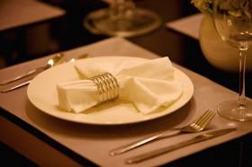 酒店餐具高清图片图片