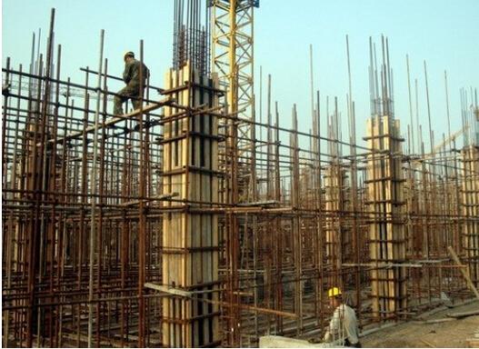 如下图所示为构造柱: 框架柱就是在框架结构中承受梁